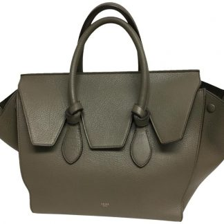 5de672233022 Outlet Céline 7 Star Replica Knot Olive Leather Tote celine crossbody bag