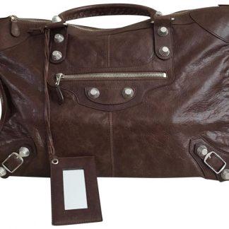 a103a1733940 You re viewing  Top Designer Qualities Balenciaga AAA Replica Silver Giant  Hardware Brown Leather Weekend Travel Bag balenciaga replica bag 2019  £618.13